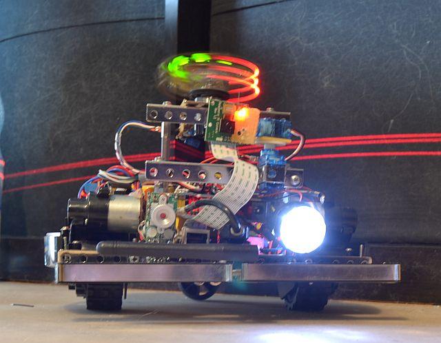 ros-controlled robot with diy-lidar - codeninja de